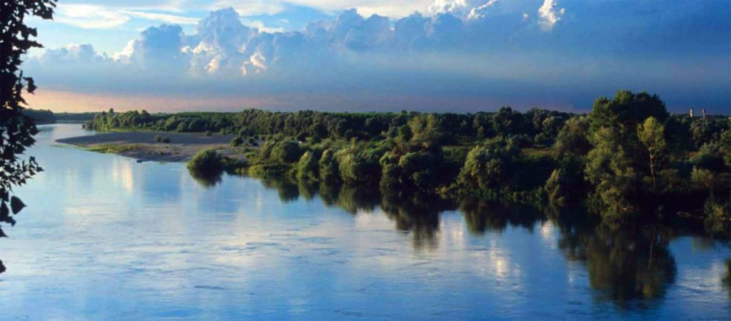 fiume po energia pulita