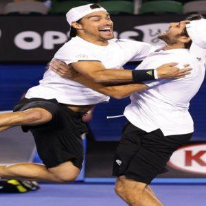Gli Australian Open si tingono d'azzurro