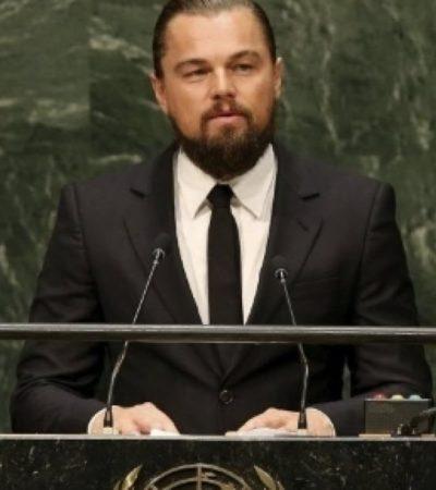 Leonardo DiCaprio: in prima fila per l'ambiente