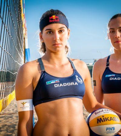 Beach volley, Marta e Viktoria per un oro a Rio