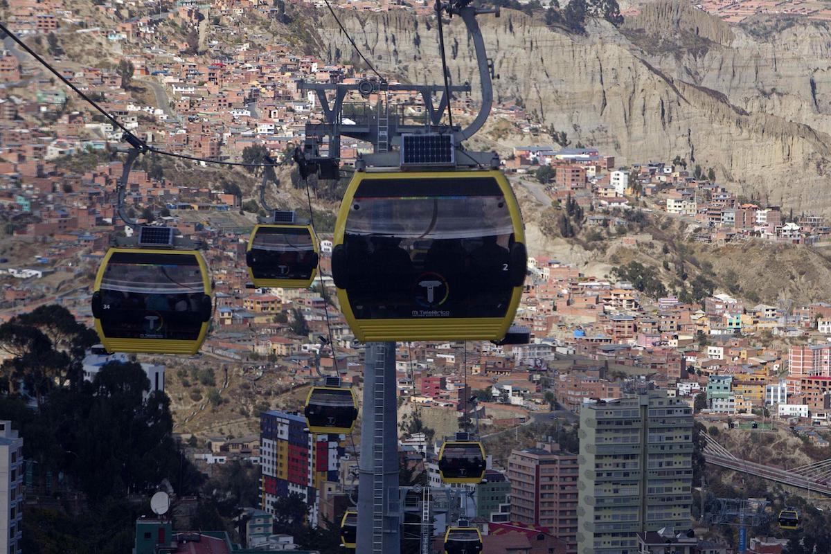 Funivia di La Paz Bolivia