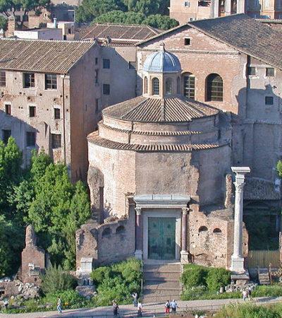 Il tempio dell'altro Romolo