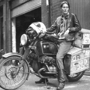 Elspeth Beard ed il giro del mondo… in moto