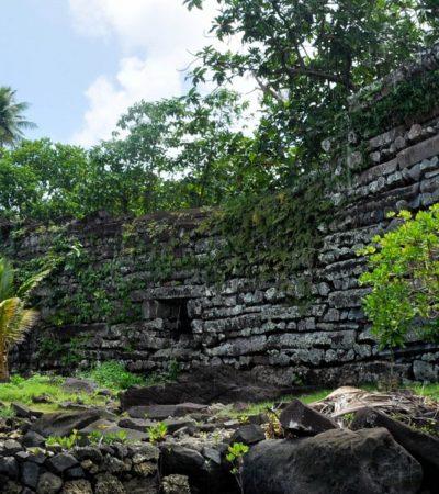 Le piramidi di Kosrae risalgono al Medioevo