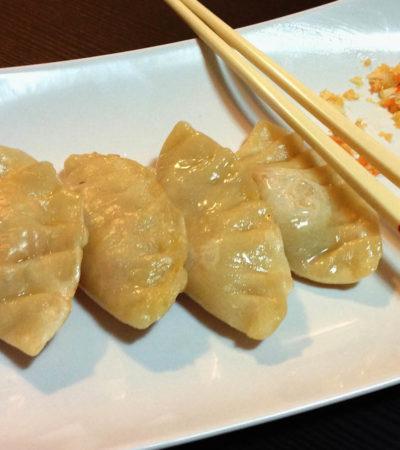 La ricetta dei ravioli cinesi di verdure al vapore