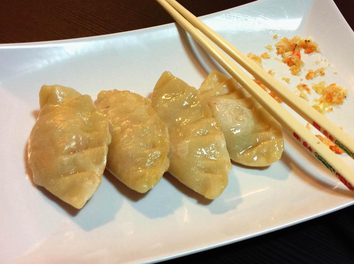 La ricetta dei ravioli cinesi di verdure al vapore greenious - Ricette con forno a vapore ...