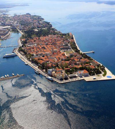 A Zara in Croazia, il lungomare che suona