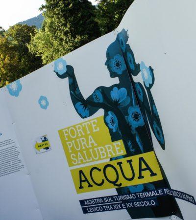 Benessere e salute, Levico Terme ospita una mostra sull'acqua