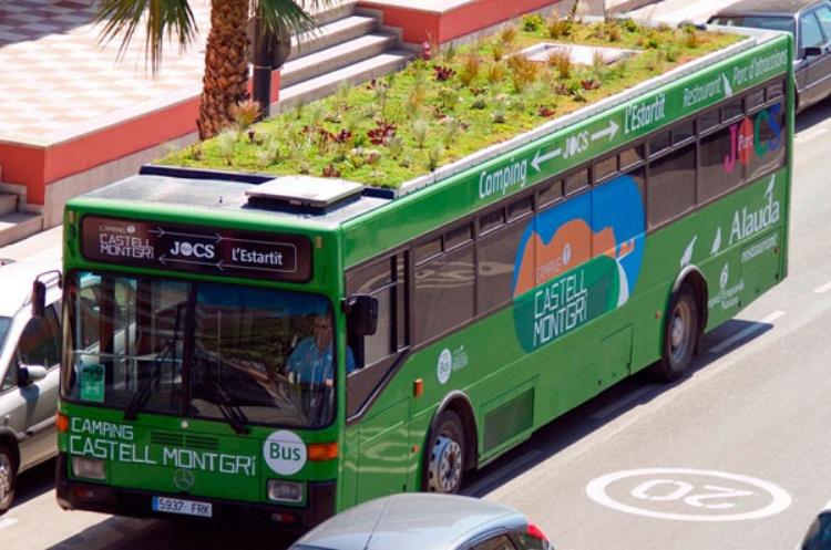 autobus sostenibili Madrid
