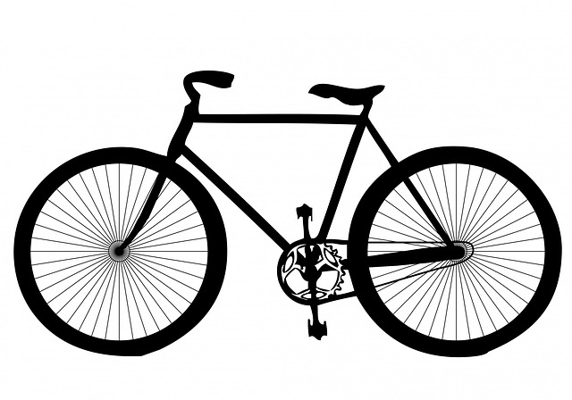 disegno bicicletta mbk