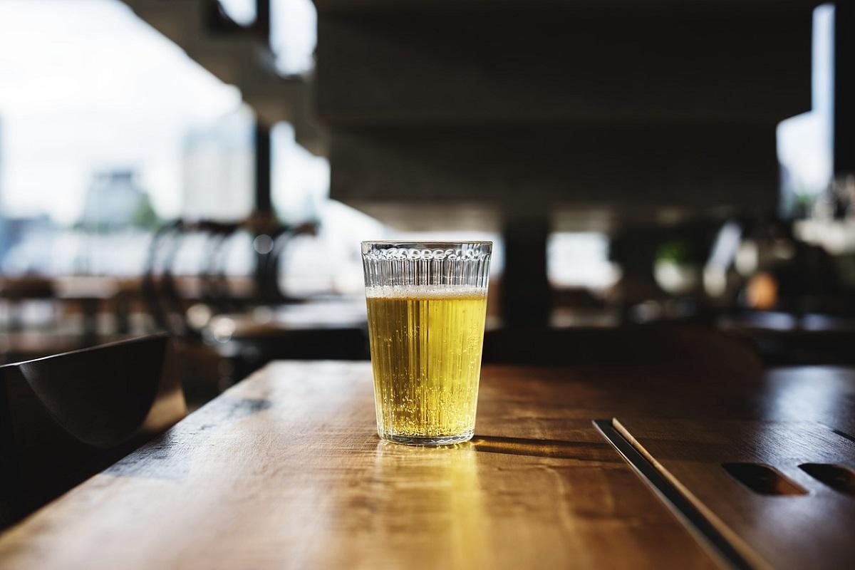 bicchiere di birra italiana