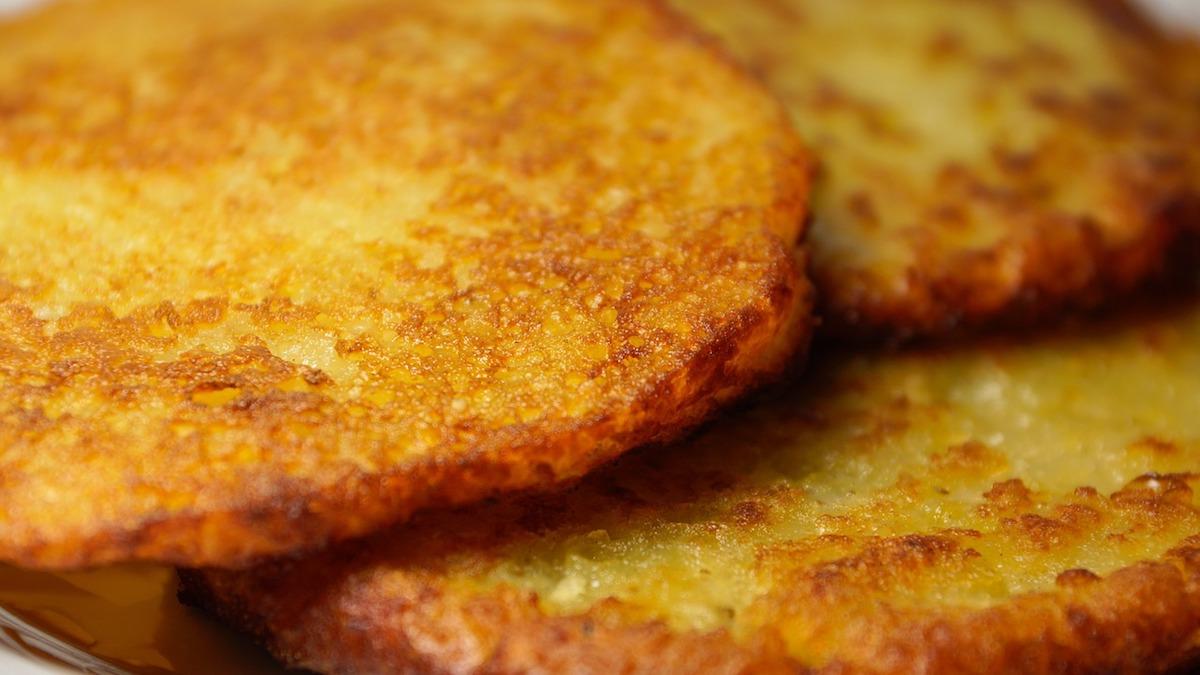 frittelle salate di mele e patate