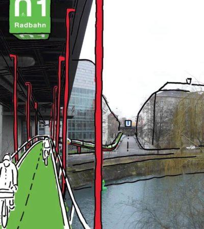 Berlino, sotto la metropolitana una pista ciclabile