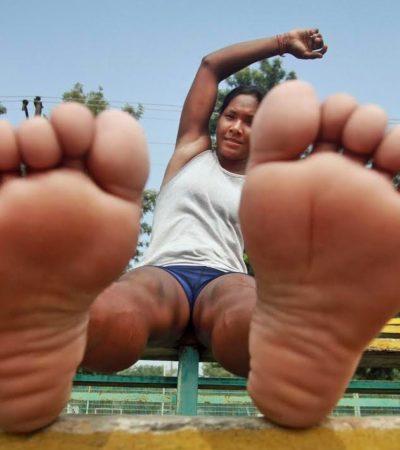 Swapna Barman, l'atleta con 12 dita