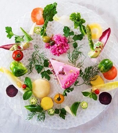 Arrivano dal Giappone le nuove golose torte di verdure