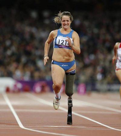 Martina Caironi, portabandiera a Rio 2016