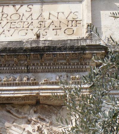 L'Arco di Tito: il più elegante tra gli archi di trionfo