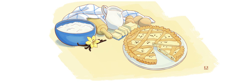 crostata crema pasticciera