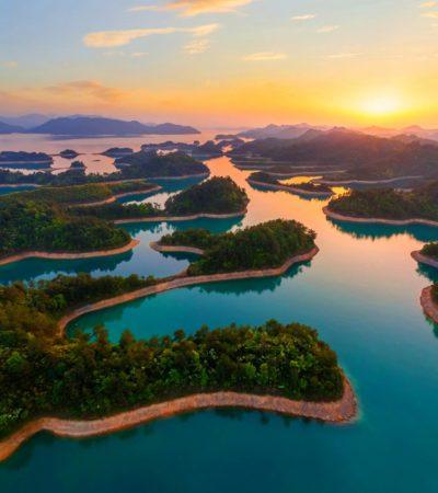 """Il lago di Qiandao, la """"vera"""" Atlantide moderna"""