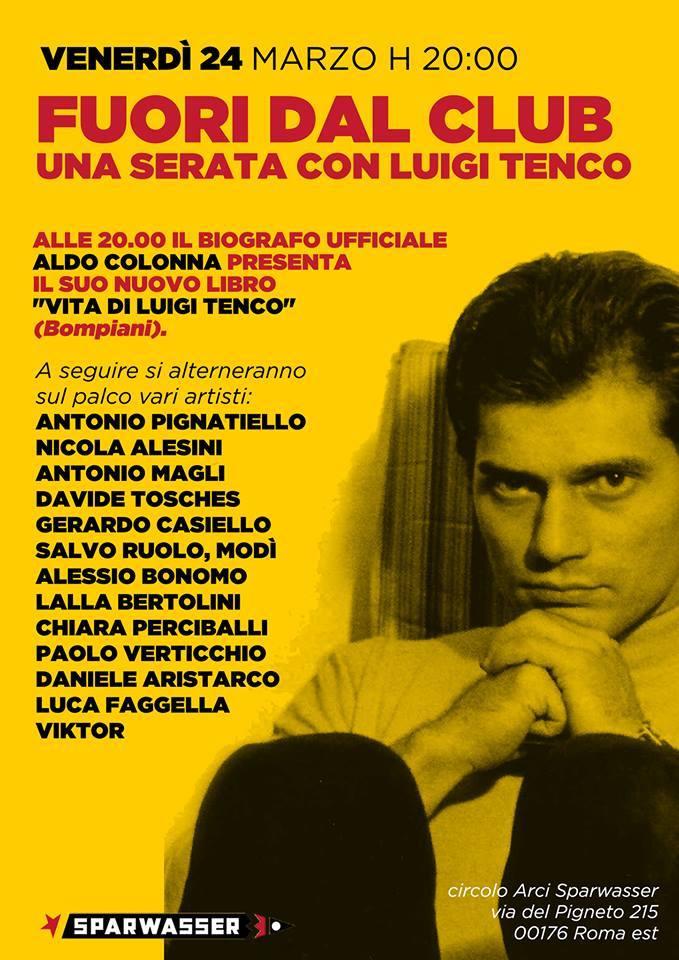 Luigi Tenco locandina spaewasser