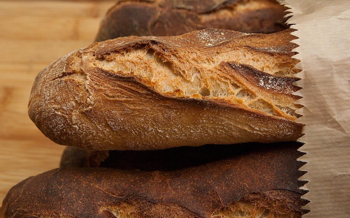 filoni di pane fatto in casa