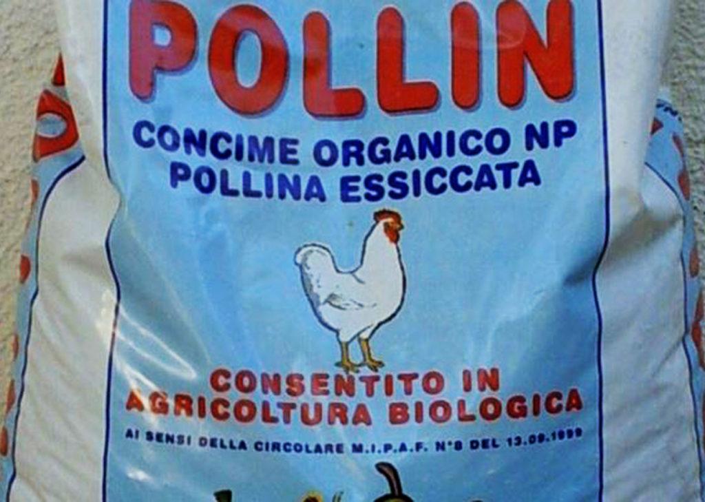 sacco di concime pollin