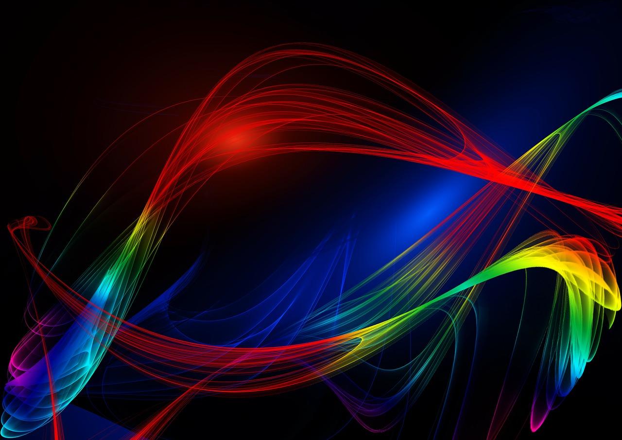 fasci di luce bioenergetica