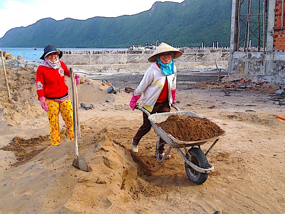 Donne al lavoro Vietnam Phu Quoc