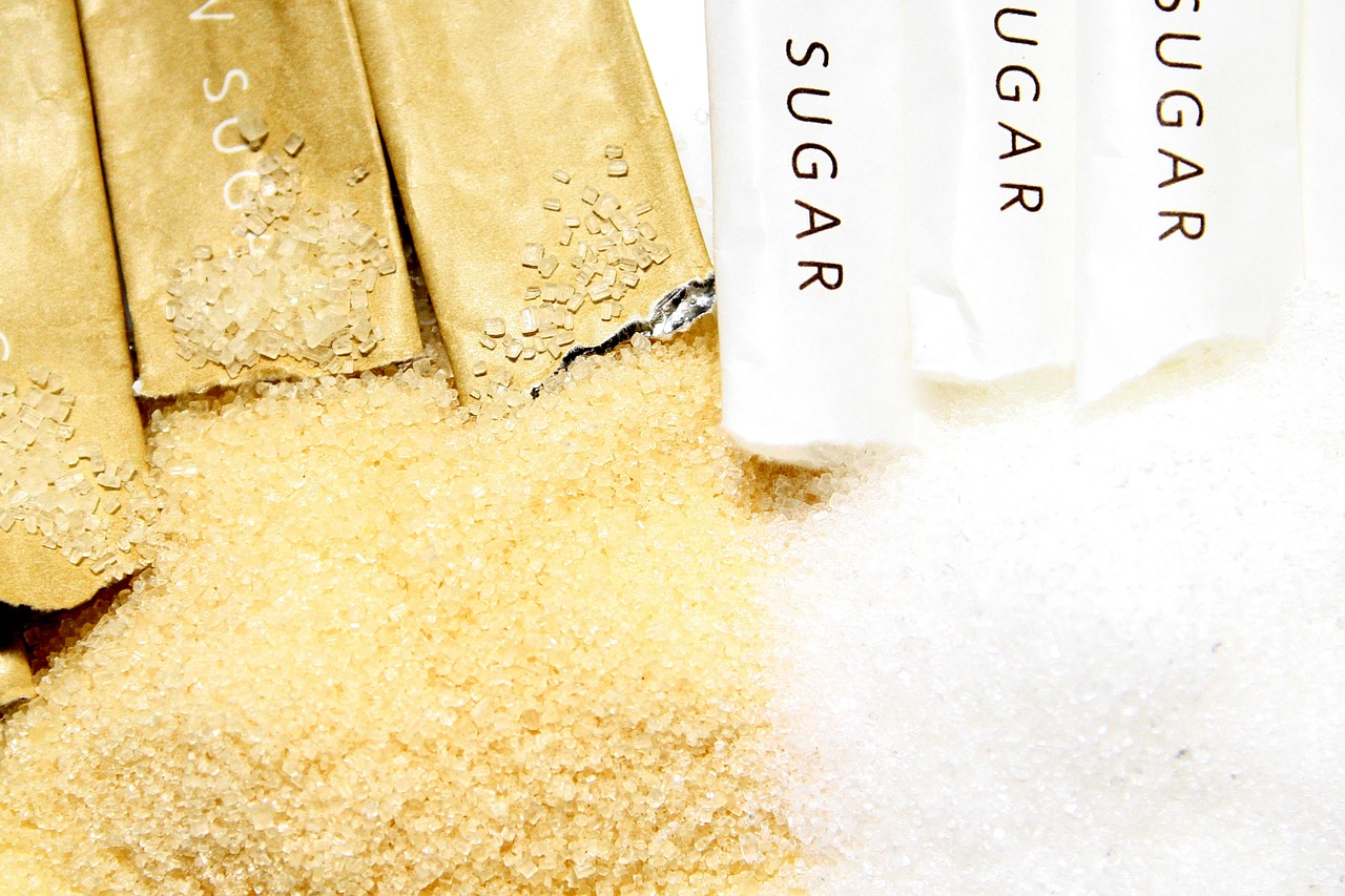 dolcificanti naturali e zucchero bianco