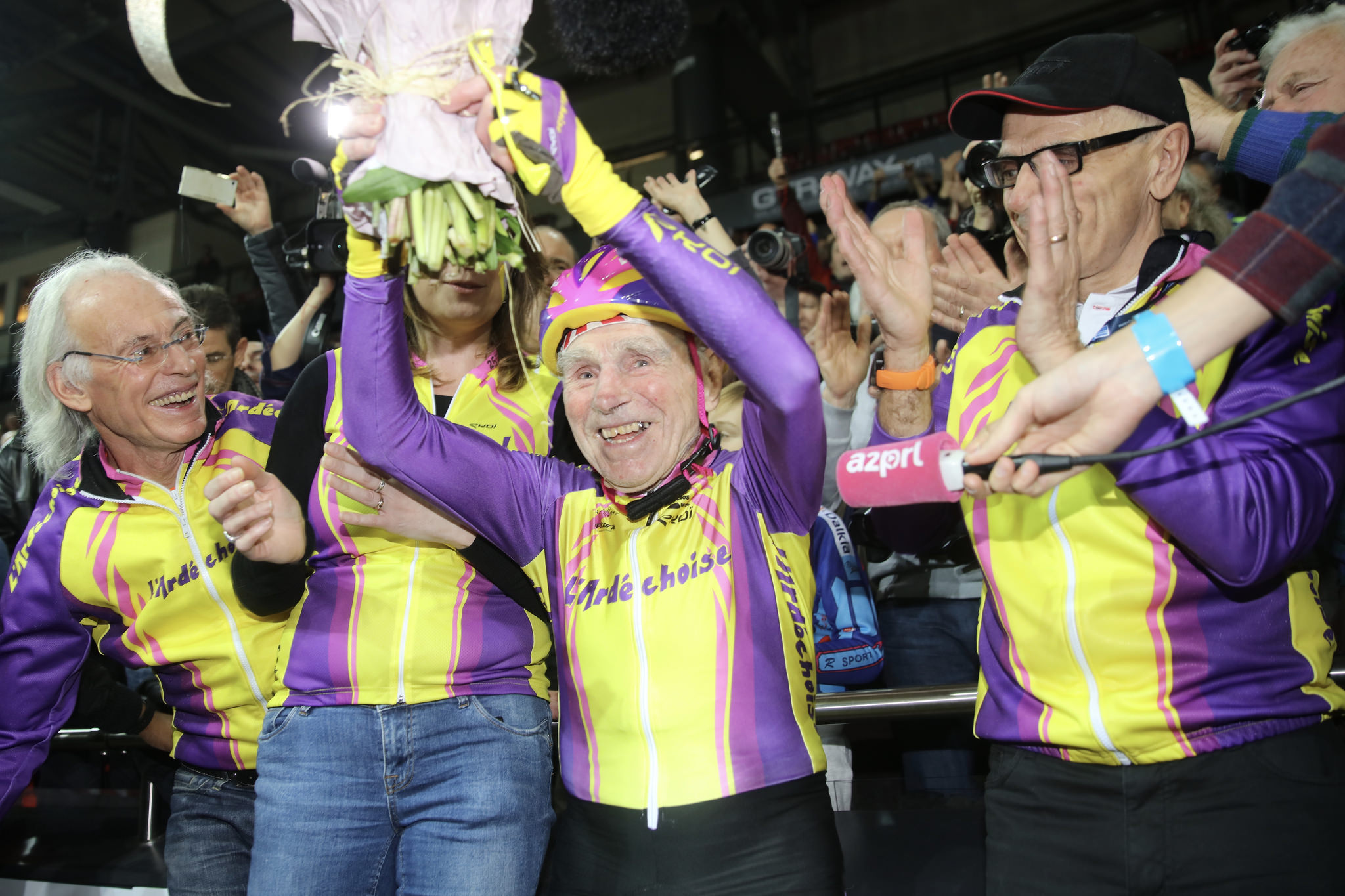 Robert Marchand il ciclista centenario