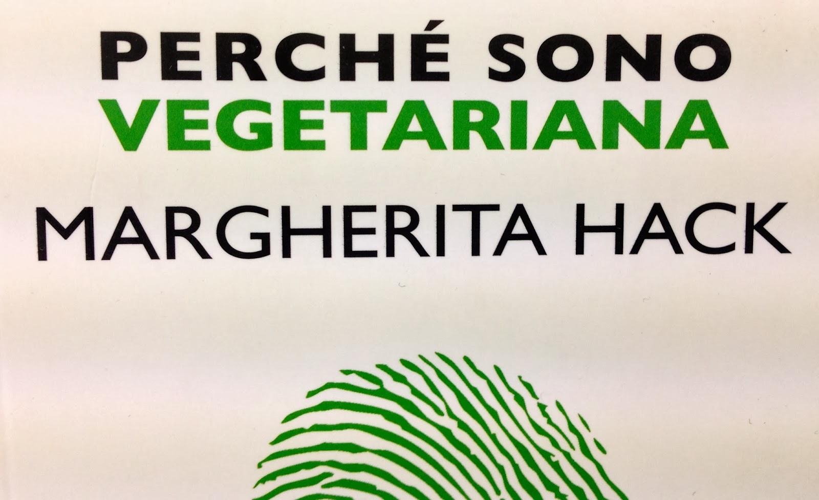copertina libro margherita hack perchè sono vegetariana