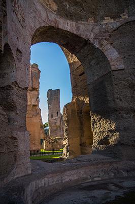Terme di Caracalla, paradiso di acque