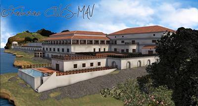 Ricostruzione della villa dei Papiri