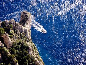 Salto di Tiberio a Capri