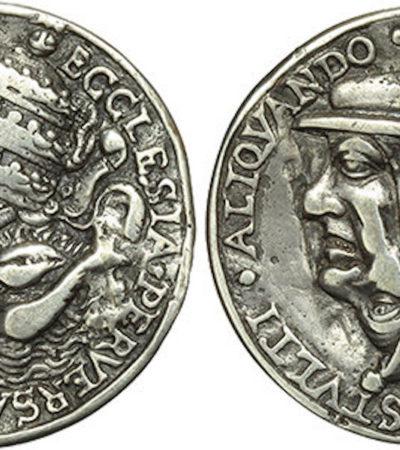 La medaglia satirica, lo strumento di contestazione del XVI secolo