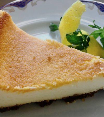 Torta alla robiola, la cheesecake tutta italiana