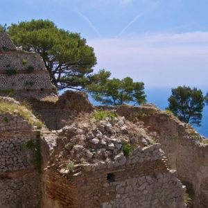 Villa Jovis e le ville di Tiberio sull'isola di Capri