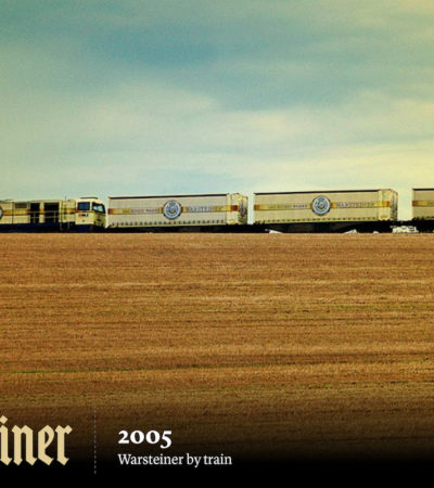 Warsteiner, la birra tedesca che viaggia in treno