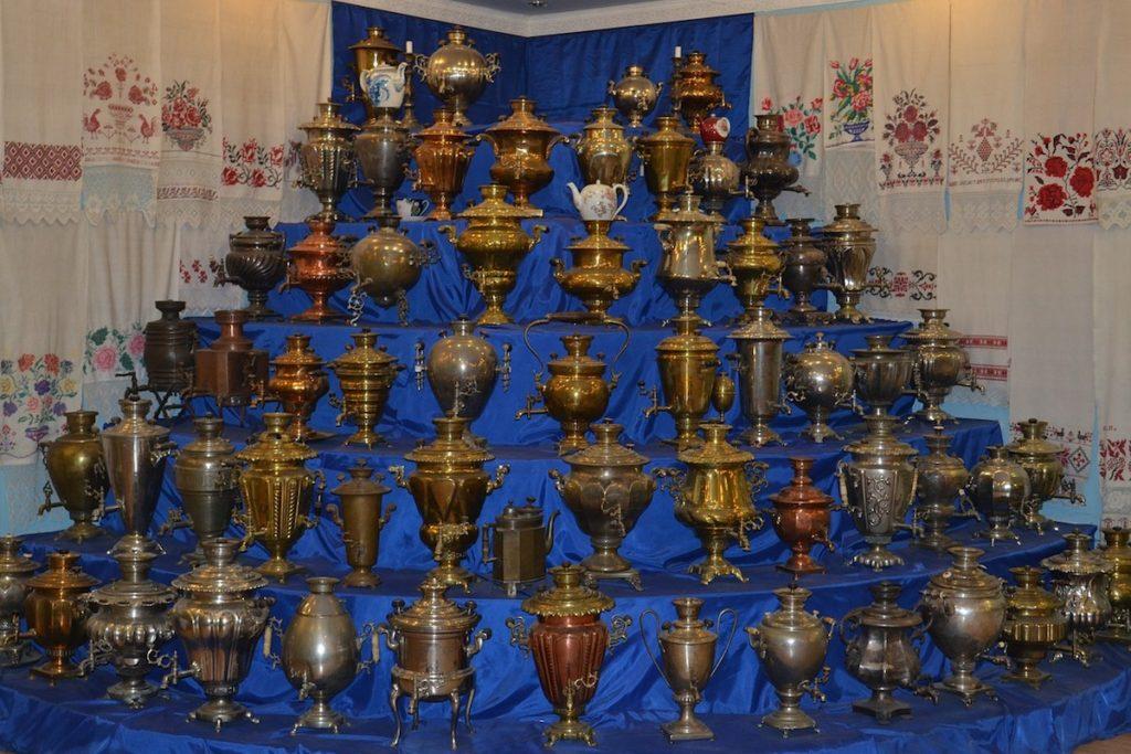 samovar tè in russia
