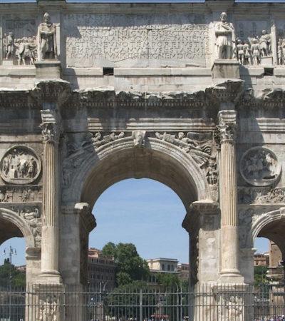 L'Arco di Costantino, monumento che vale un museo