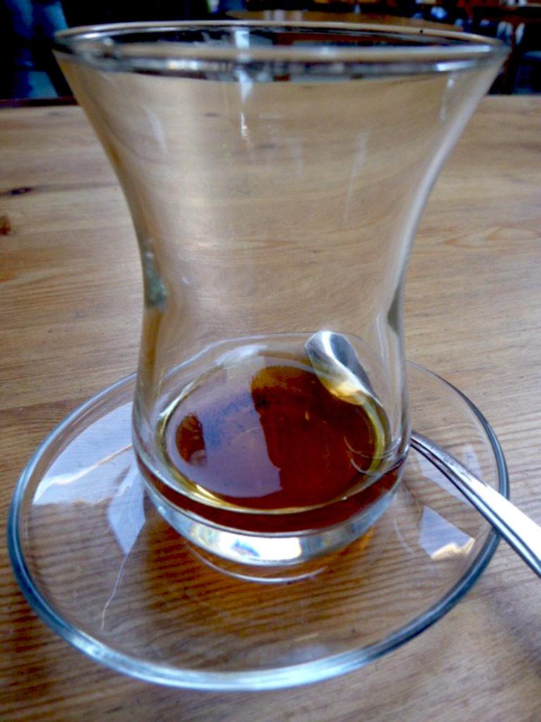 bicchiere tè turco