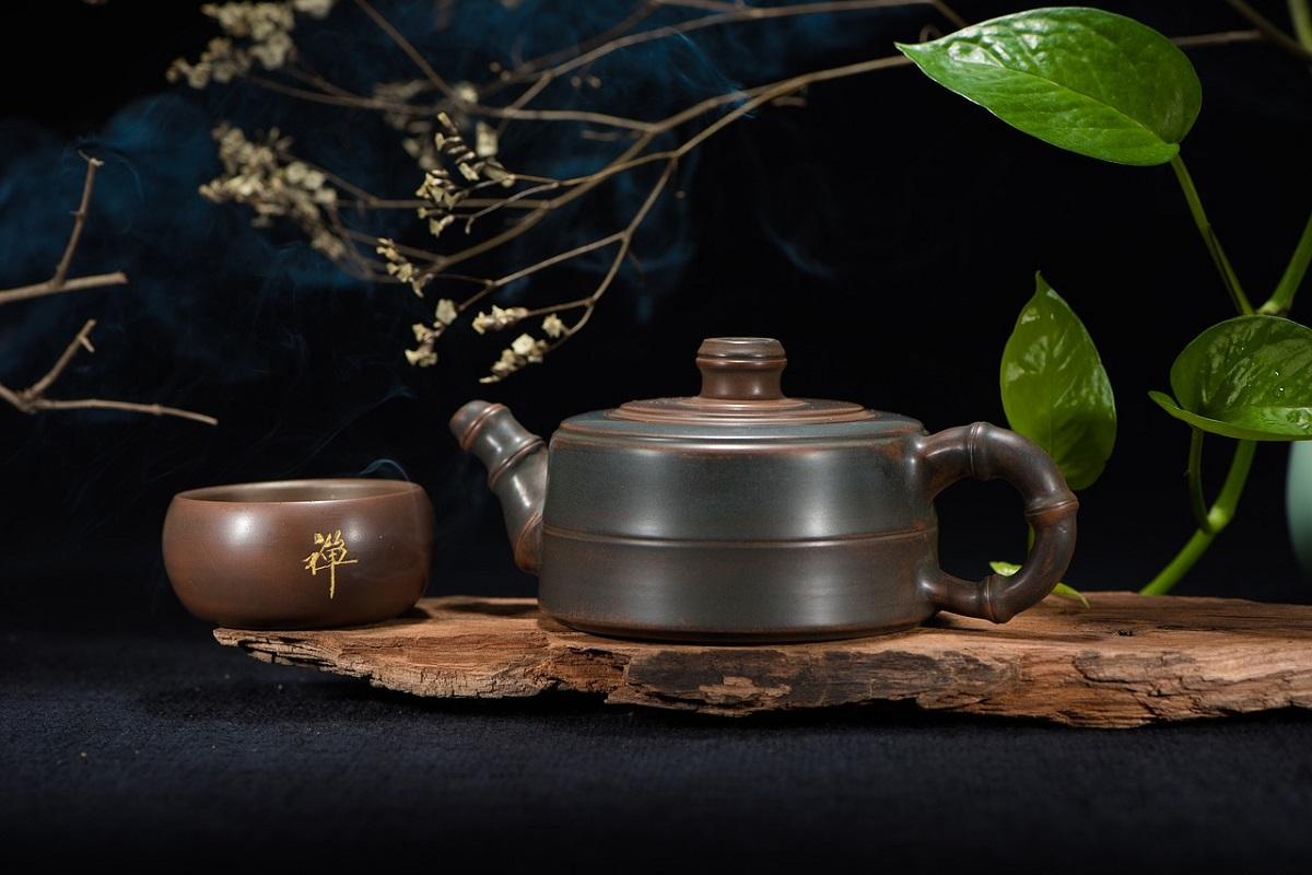 teiera per cerimonia del tè