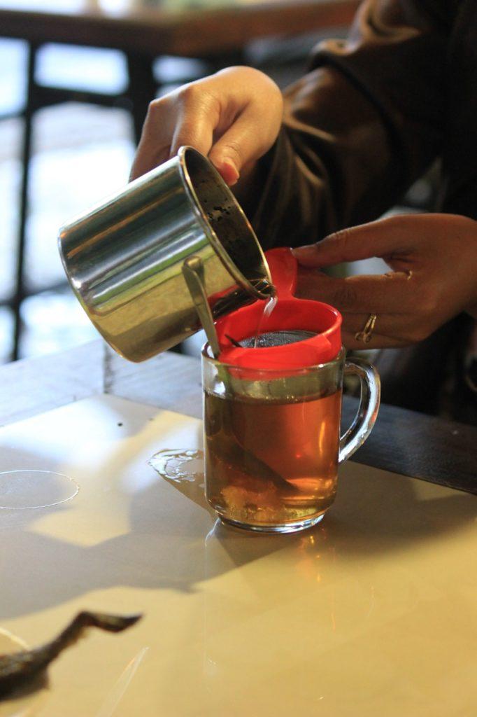 acqua giusta per preparazione del tè