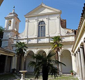interno basilica san clemente