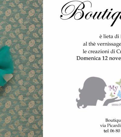 "Boutique Feme' presenta ""My Fabric Ideas"""