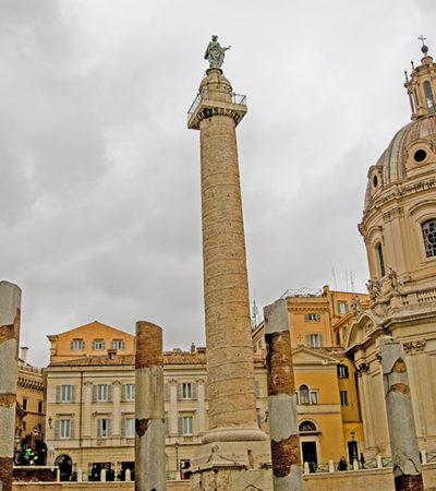 Traiano, la sua colonna: come un'immortale pellicola di film
