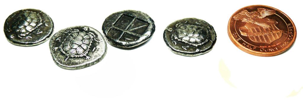 stater aegina moneta con tartaruga