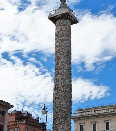 Una colonna per Marco Aurelio, imperatore filosofo