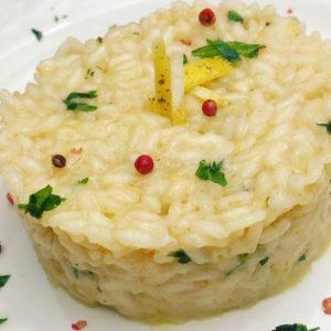 Ospiti last minute? La ricetta del risotto al limone