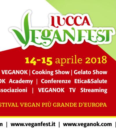 A Lucca il VeganFest, il festival vegan più grande d'Europa